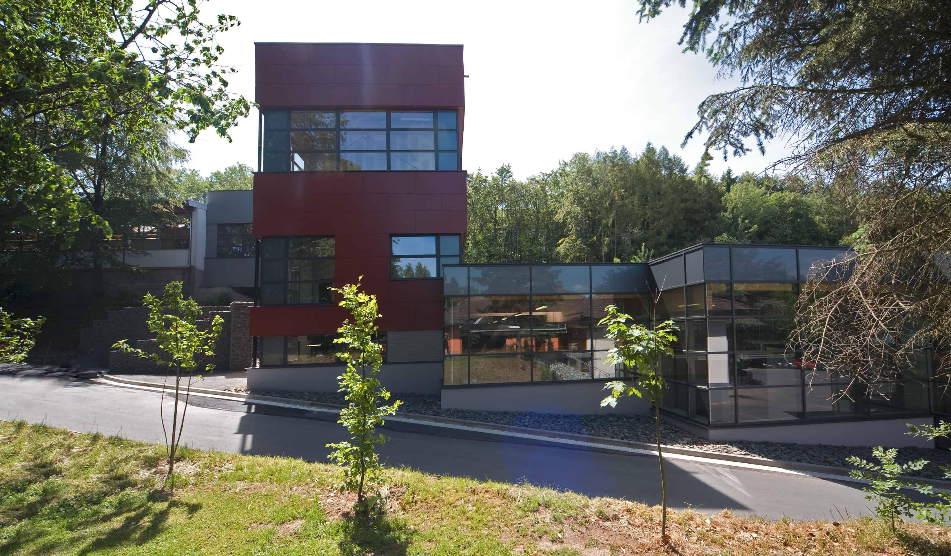 Stommel-Haus: Holzhaus der Familie Kesten in Troisdorf